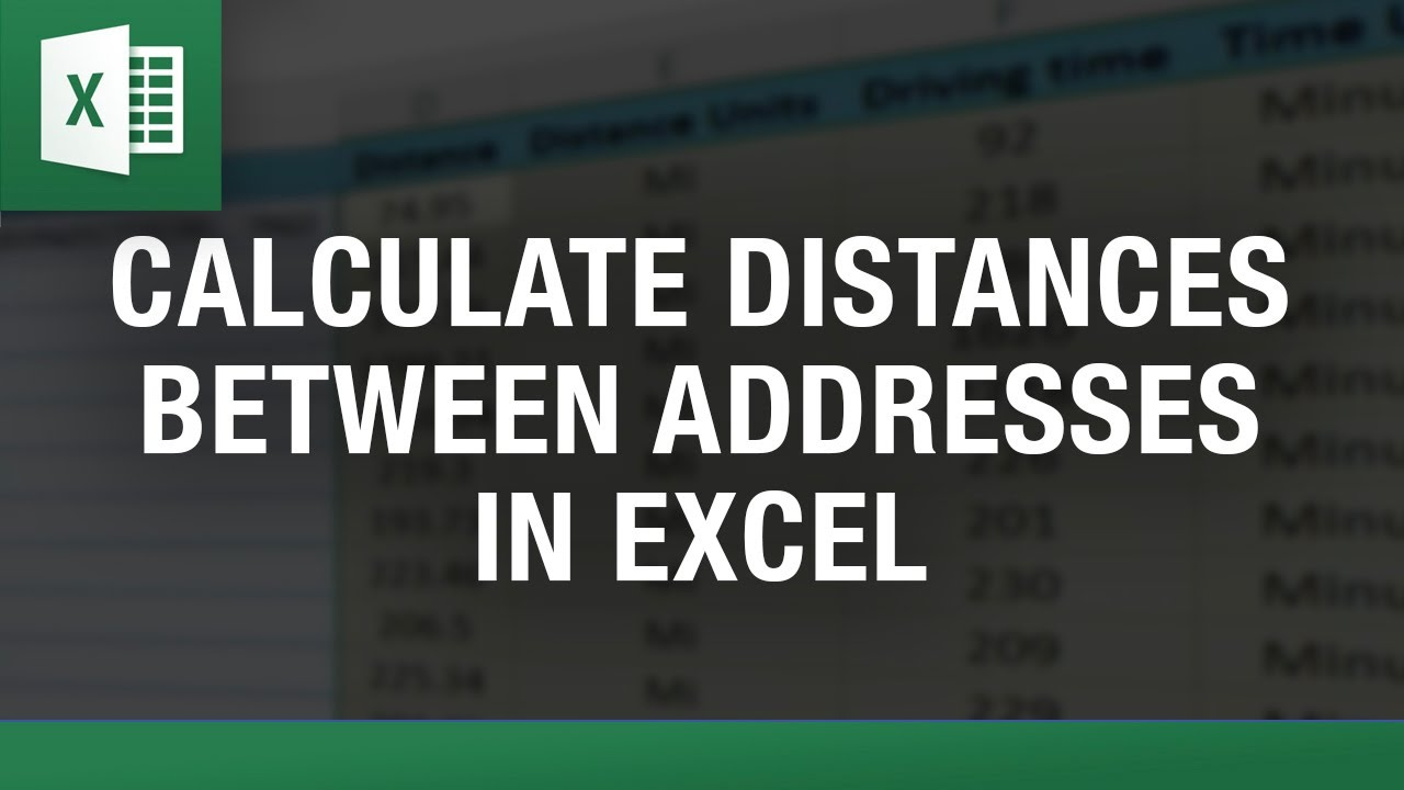 Calculate Distance Between Two Zip Codes Or Addresses In Excel - Us zip codes list excel