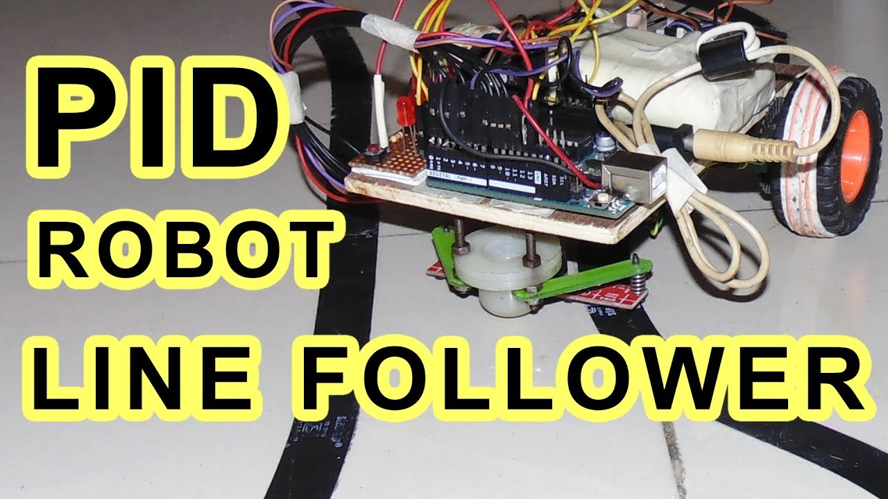 Pid line follower robot using arduino uno qtr rc