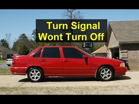 Turn Signal Will Not Return Or Turn Off, Volvo S70, V70, XC70, Etc. - VOTD