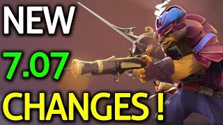 Dota 2 - PATCH 7.07 - NEW HERO CHANGES! (Part 1/4)