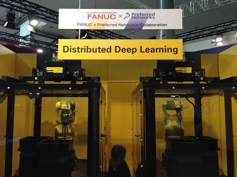 Distributed deep learning robots
