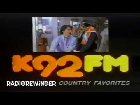 WWKA Orlando K92 1986 TV Spot RadioRewinder