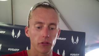 Evan Jager talks disappointing race at PJ after advancing to 2017 USA final