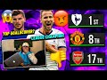 I Reacted To My TERRIBLE Premier League Predictions... (OH MY GOD! 😡😡)
