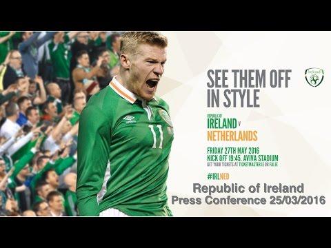 Republic of Ireland Press Conference 25/03/2016