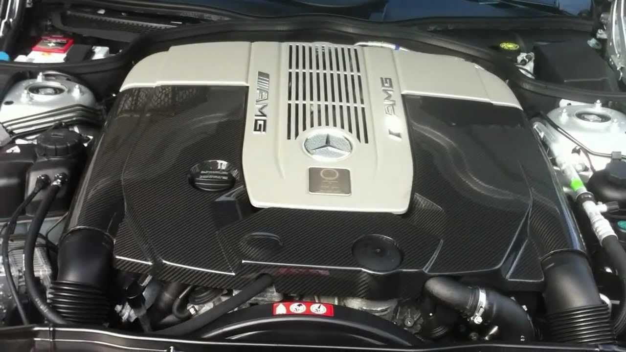 2008 Mercedes-Benz SL65 AMG V12 Engine 604 HP 738 Ft-Lbs - YouTube