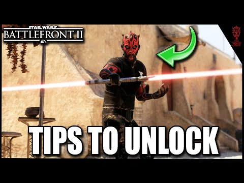 """How To Unlock """"Old Master"""" Maul Skin Faster & Gameplay Showcase - Star Wars Battlefront 2"""