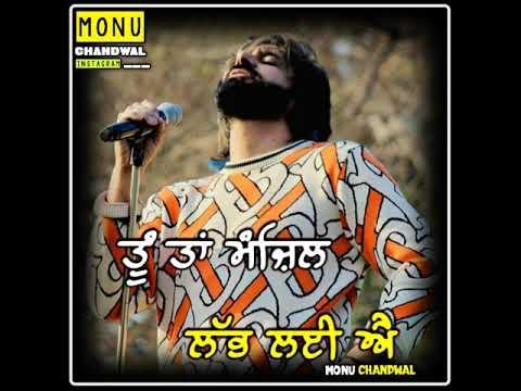 Punjabi Sad Song Status   Babbu Maan Whatsapp Status   Monu Chandwal
