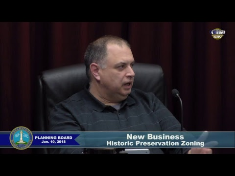 Chelmsford Planning Board Jan 10,2018