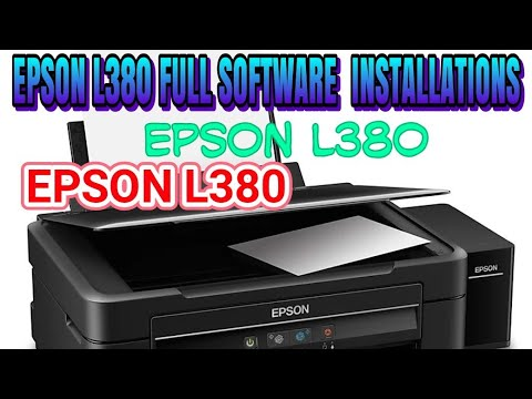 Epson L380 Scan Driver For Mac - rraspaw's diary