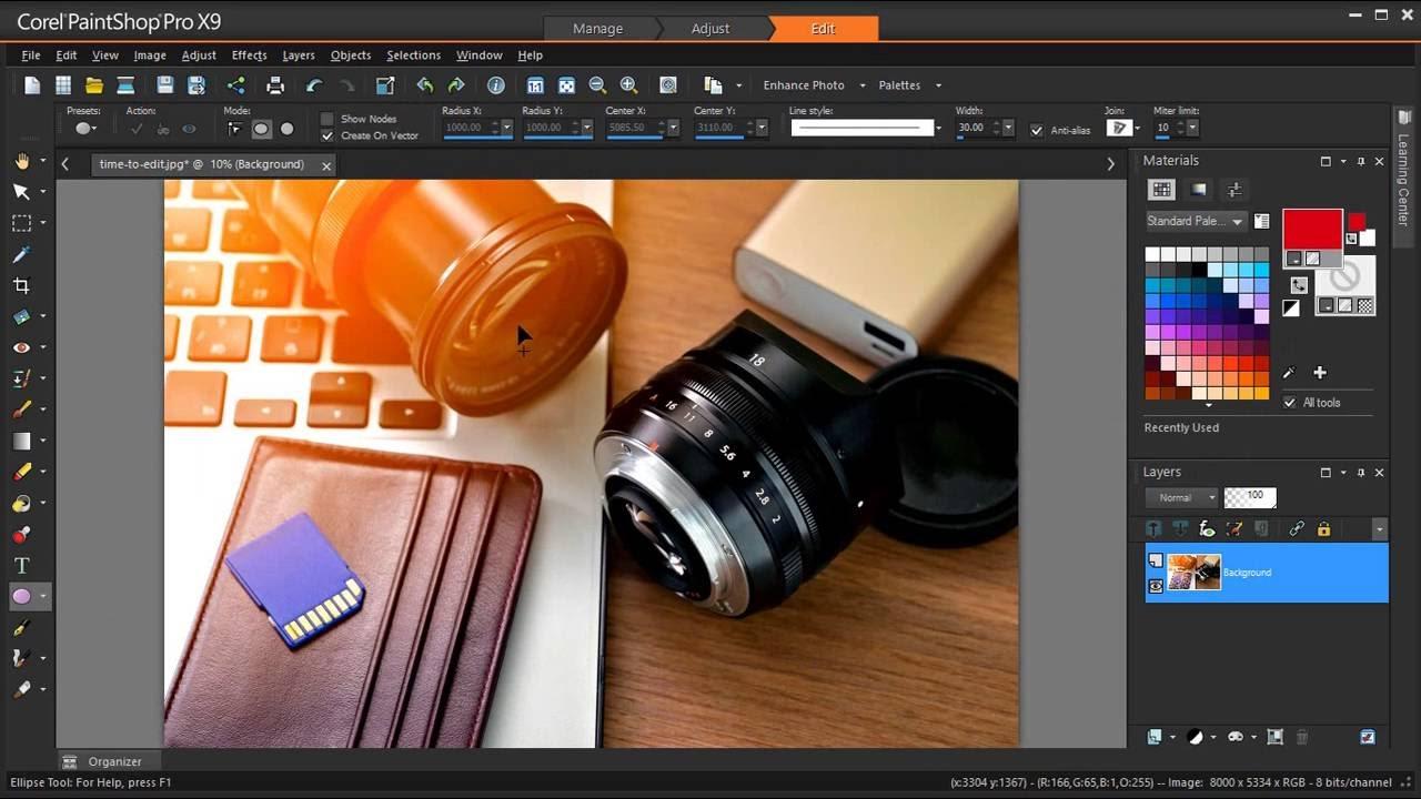 Export your edit history in PaintShop Pro X9 - YouTube