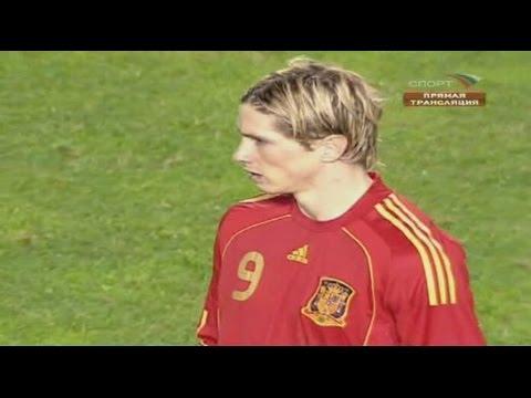 Fernando Torres vs England Home 08-09