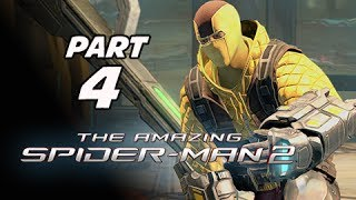 The Amazing Spider-Man 2 Walkthrough Part 4 - Boss The Shocker (PS4 1080p Gameplay)