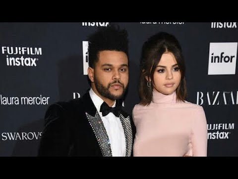 Selena and The Weeknd at Harper