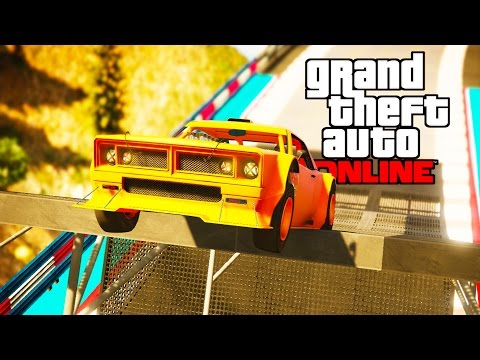 GRAND THEFT FETUS! Baby Cars Smashing Into One Another - Grand Theft Auto V Online (GTA 5) Gameplay