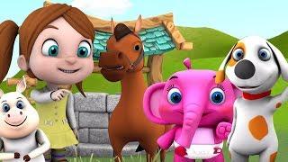 звуки животных | имена животных в россии | имена и звук для детей | Animal Sound Song