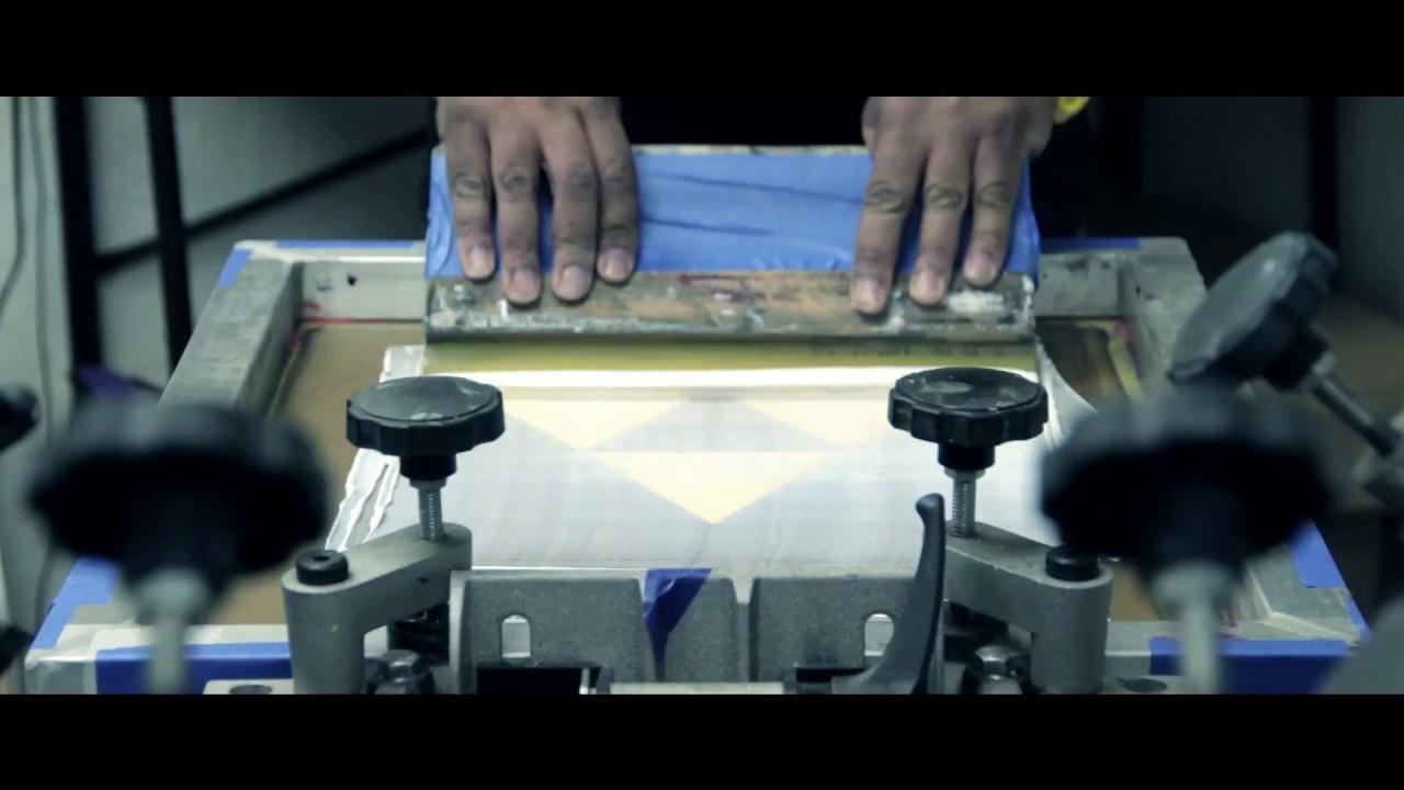 San francisco screen printing t shirts youtube for T shirt screen printing san diego