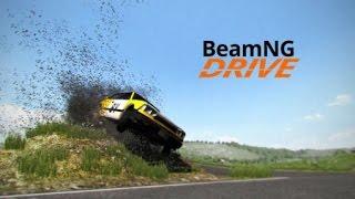 beamNG Drive поломка машины в замедление