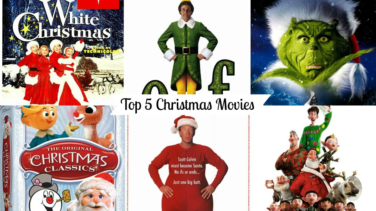 Top 5 christmas movies vlogmas day 17 youtube for Christmas movies on cable tv tonight
