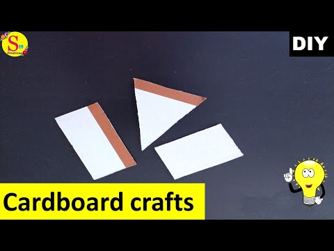Best out of waste ideas using cardboard | recycled craft ideas | cardboard craft ideas