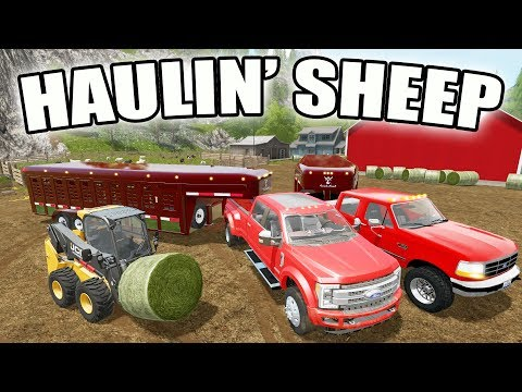 FARMING SIMULATOR 2017 | HAULING SHEEP + BUYING A NEW LOADER TRACTOR | EP #27