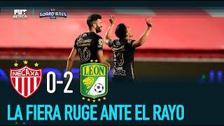 Necaxa 0-2 León | Resumen y Goles, Jornada 8 Guardianes 2020 | Liga MX