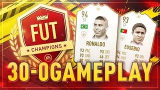 FIFA 19: FUT CHAMPIONS 30-0 GAMEPLAY | PLATZ 14 DER WELT! 😍🔥