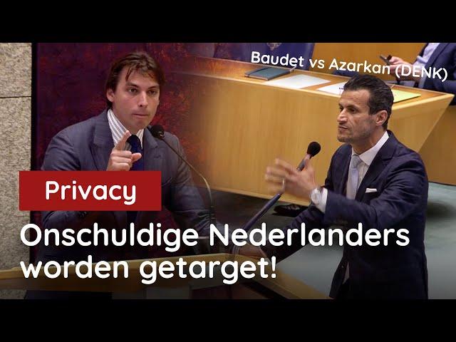 Baudet vs Azarkan (DENK): U wil onschuldige Nederlanders targeten!