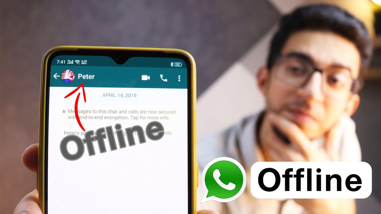 ازاى تبقى Offline على الواتس أب | How To Hide Online Status On Whatsapp !
