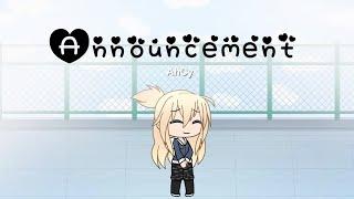 Announcement