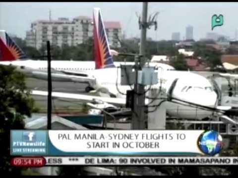 NewsLife: PAL Manila-Sydney Flights To Start In October || Sept. 17, 2015