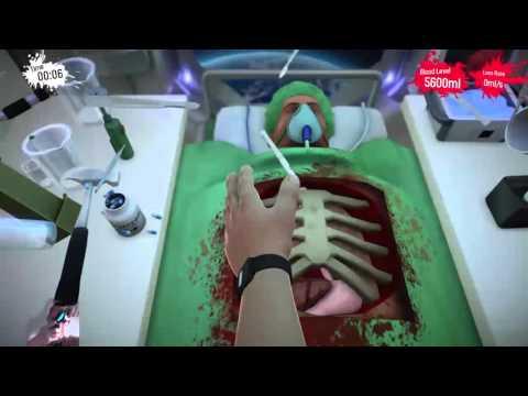 Surgeon Simulator LIVE FridiNaTor #1