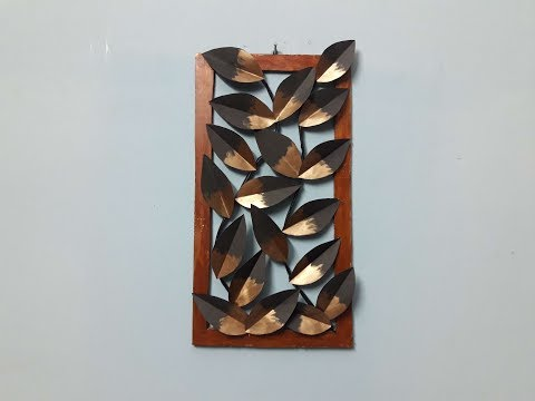 Unique Wall Decor Craft Ideas with paper/ DIY room decor idea with paper