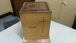 Stolen urn of Pinay banker returned to family