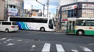 名鉄バス 名阪道高速バス 前面展望 名古屋(名鉄バスセンター)~近鉄奈良駅・JR奈良駅