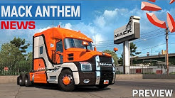 ATS Mack Anthem NEWS 🚨 Mack Anthem ist da | PREVIEW I AMERICAN TRUCK SIMULATOR