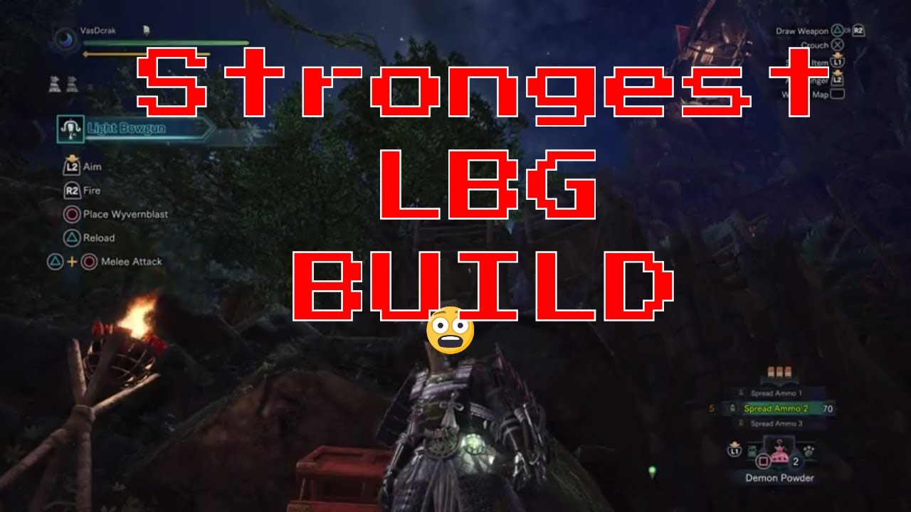 MHW: strongest LBG build right now