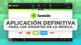 TunesGo, la app definitiva para los amantes de la música