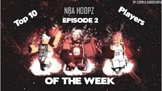 Roblox Nba Hoopz Top Ten Spieler der Woche EP.2