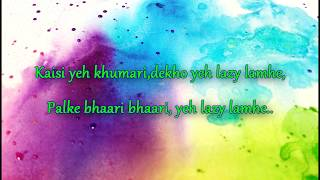 Lazy Lamhe | Thoda Pyaar Thoda Magic | Saif Ali khan, Rani Mukerji