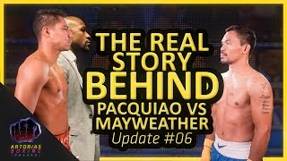 The Real Story Behind Pacquiao vs Mayweather (Update #06) #TeamLegend #MayPac #MayPac2
