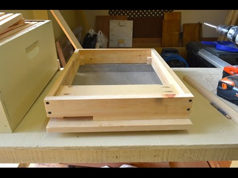 How To Build a Screen/Mesh Bottom Box For a Beehive