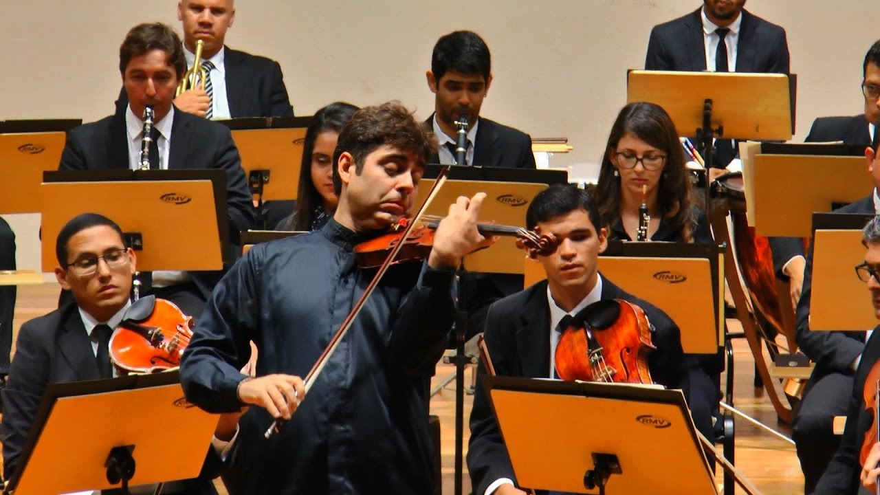 OSPB e Daniel Guedes - Beethoven  Violino Concerto