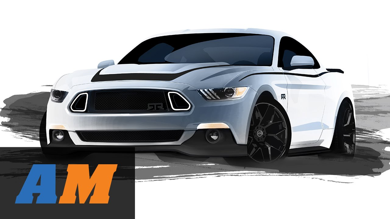 AM2014 AmericanMuscle Car Show: 2015 Mustang RTR Reveal - YouTube