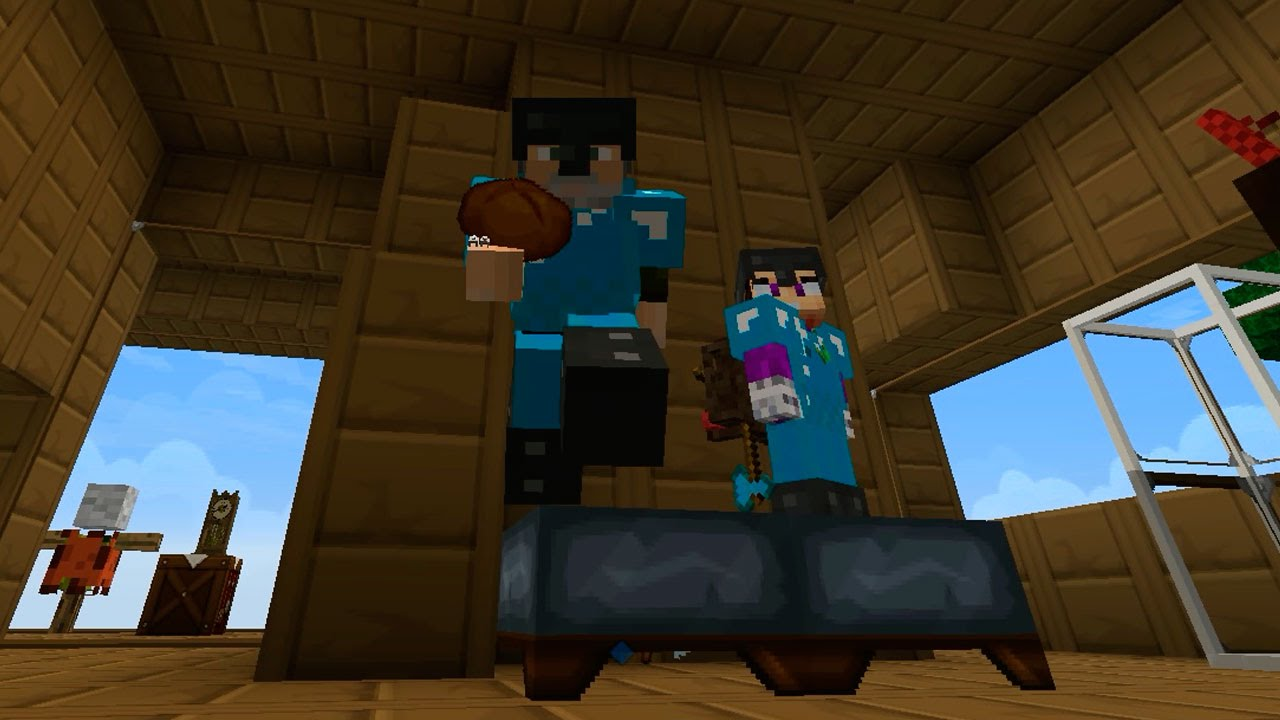 Un Mal Sueño Apocalipsisminecraft4 Episodio 88 Vegetta Y Willyrex Youtube