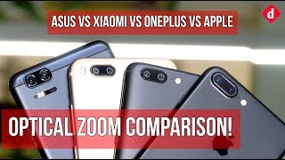 Apple iPhone 7 Plus vs OnePlus 5 vs Asus Zenfone Zoom S vs Xiaomi Mi A1 | Digit.in