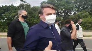 Bolsonaro Participa De Nova Manifestação Em Apoio Ao Governo