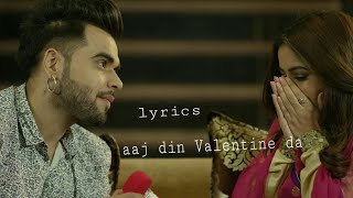 Aaj Din Valentine Da | Dil | Romantic Punjabi Song | Full HD