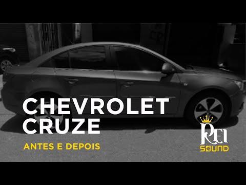 CHEVROLET CRUZE | ANTES E DEPOIS | REI SOUND