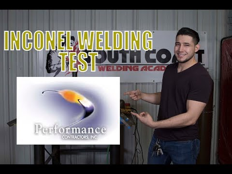 Pipe TIG Welding, Inconel 82 - Super Coupon (2-3/4'' x 5/8'' wall thickness)